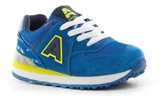 Zapatillas Addnice Running Londres 2 Azul Wales Deportes