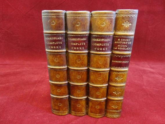 Organizador Cds Dvd Formato De Livros Shakespeare Ingles