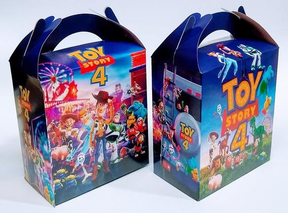 Toy Story 4 50 Cajas Dulceras Bolos Artículos De Fiestas