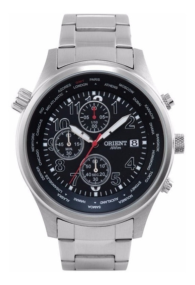 Relógio Orient Masculino Mbssc106 P2sx 100 Metros