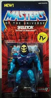 Skeletor Masters Of The Universe Vintage Figure By Super7