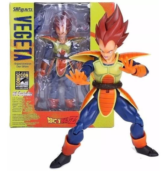 Dragon Ball Vegeta Action Figure Articulado Cod. 100