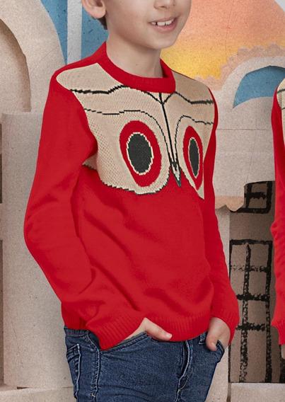 Suéter Rojo 1314731 Pr
