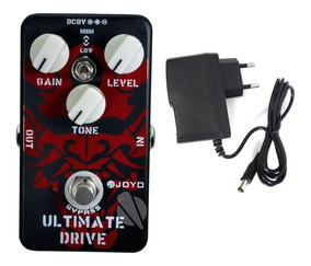 Pedal + Fonte Joyo Ultimate Jf 02 Overdrive Distortion Jf02