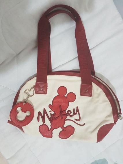 Bolsa Mickey Vermelha.