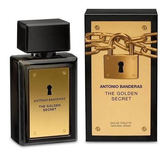 Perfume Antonio Banderas The Golden Secret 100ml. - Novo!!!