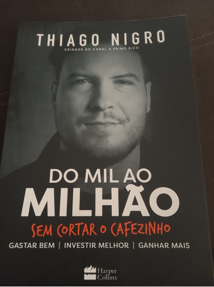Livro Do Mil Ao Milhão. Livro Físico.