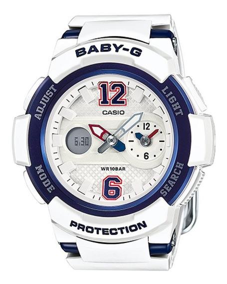 Relógio Casio Baby-g Anadigi Unissex Bga-210-7b2dr