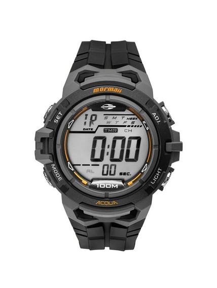 Relógio Mormaii Digital Action Mo1147a8c Preto