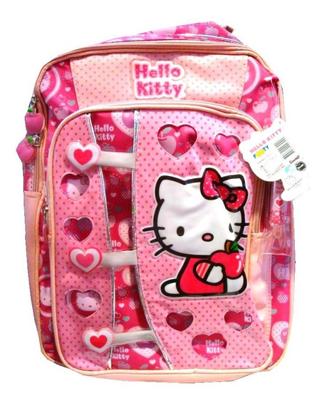 Mochila Colegial Espalda Hello Kitty 633 40 Cm - Children