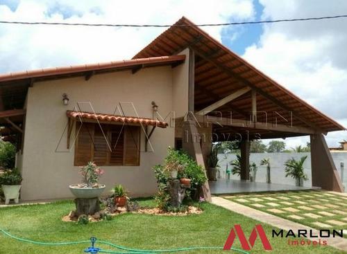 Imagem 1 de 14 de Vc01171: Casa Fazenda Real, Com 3/4 Sendo 1 Suíte E 210m²