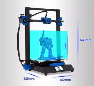 Impresora 3d Vf Tronxy Xy3 Silenciosa Gran Volumen +regalos