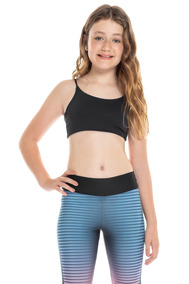 Top Body Curve Essential Kids - Preto - Live!