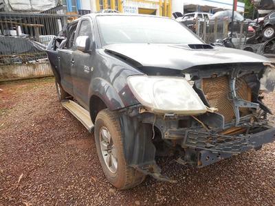 Sucata Toyota Hilux 3.0 4x4 Srv 2009venda De Peças