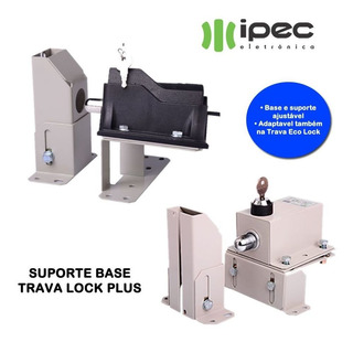 Suporte Base P Trava Portao Automatico Facil Instalacao Ipec