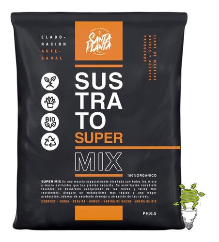 Sustrato Super Mix 50dm3 Santa Planta Cultivo Urbano