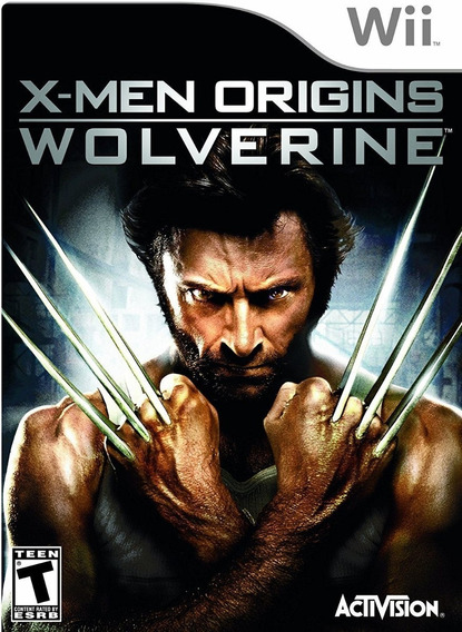 Jogo X-men Origins Wolverine Nintendo Wii Mídia Física Game