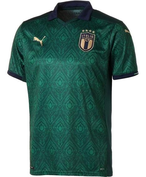 Camiseta Italia Puma Verde Eurocopa 2020