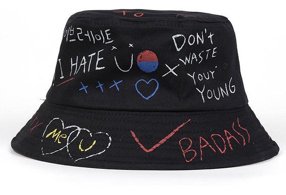 Chapéu Bucket Hat Street Badass Trap