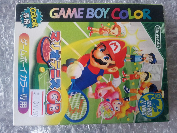 Mario Tennis Game Boy Color Cartucho Original Japones