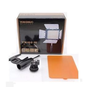 Led Vídeo 160 Pontos De Luz P/ Iluminação + Bateria Np-f970