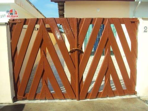 Casa Com 2 Dormitórios À Venda, 53 M² Por R$ 160.000,00 - Estância Balneária Tupy - Itanhaém/sp - Ca5329