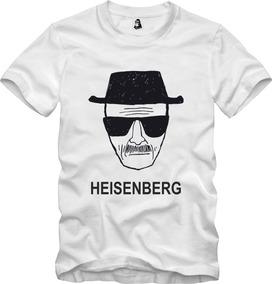 Camisa Camiseta Breaking Bad Heisenberg Walter White