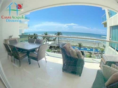 Cad Ocean Front 406 De Playa. Terraza Con Vista Al Mar