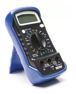 Tester Multímetro Digital Con Medidor De Temperatura Bremen
