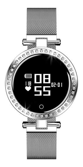 Microwear X10 Mulheres Relógio Inteligente 0.66 Polegadas