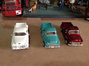 Lote De Miniaturas Saico 1/32 Pick Up Chevy Stepside 1955