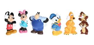 Set De Figuras De Baño Disney Collection Mickey Mouse