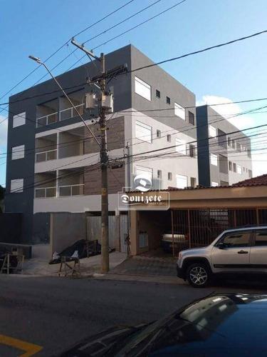 Apartamento Com 1 Dormitório À Venda, 46 M² Por R$ 280.000,00 - Nova Gerti - São Caetano Do Sul/sp - Ap16181
