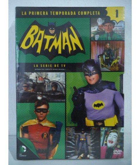 Batman Temporada 1 Tv Serie Original Dvd