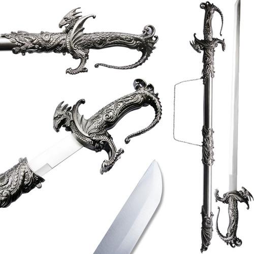 Espada Siegrifild O Caçador De Dragão C/ Bainha Saint George