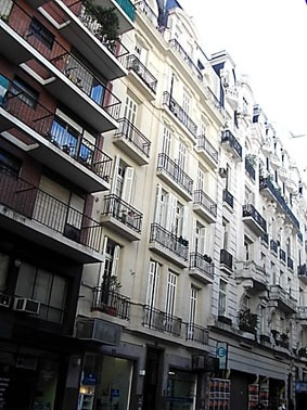 Alquiler Temporal Departamento Amoblado Buenos Aires Centro