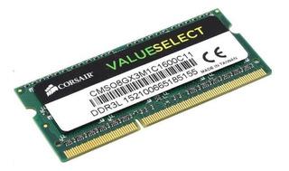 Ddr3l 8gb 1600mhz-12800s Corsair Para Notebook Y Macbook.