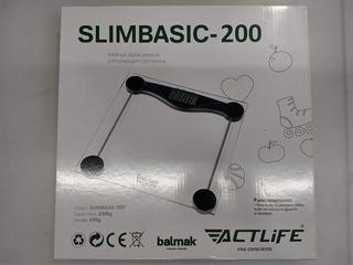 Balança Digital Pessoal Balmak Slim Basic 200