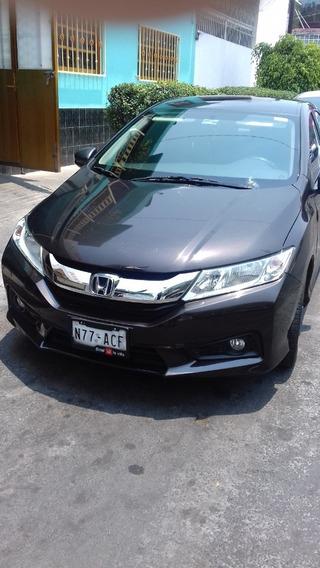 Honda City Ex Cvt Único Dueño Factura Original
