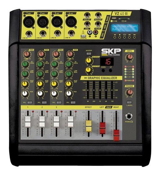 Consola Mixer Potenciada Skp Vz 40 Il Tienda Oficial Skp