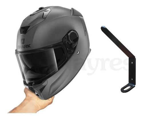 Imagen 1 de 4 de Soporte Pared Casco Moto Perchero Chaqueta Diseño Nayres.ar