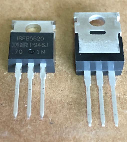 06 X Irb5620 Ir Original ( Irfb5620 ) Pacote C/ 06 Peças