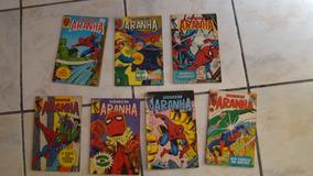 Homem Aranha - Rge - Lote Com 7 Revistas