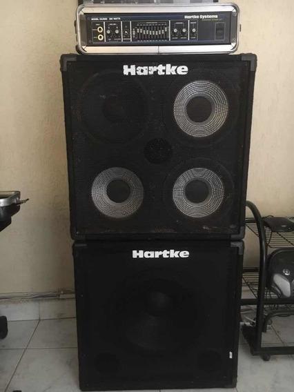 Cabeçote E Caixas Hartke