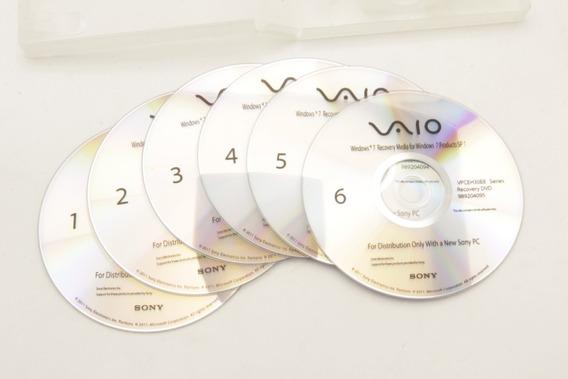 Disco Recuperação Sony Recovery Vpceh30eb Series 989203830