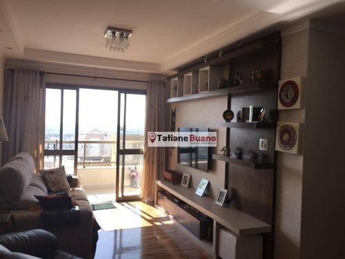 Apartamento Com 3 Dormitórios À Venda, 108 M² Por R$ 620.000 - Jardim Satélite - São José Dos Campos/sp - Ap2450