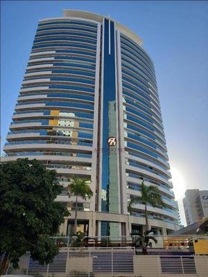 Apartamento Novo De Alto Padrão, Com Vista Mar, Beira Mar, Com 5 Dormitórios À Venda, 229 M² Por R$ 2.680.000 - Meireles - Fortaleza/ce - Ap0394