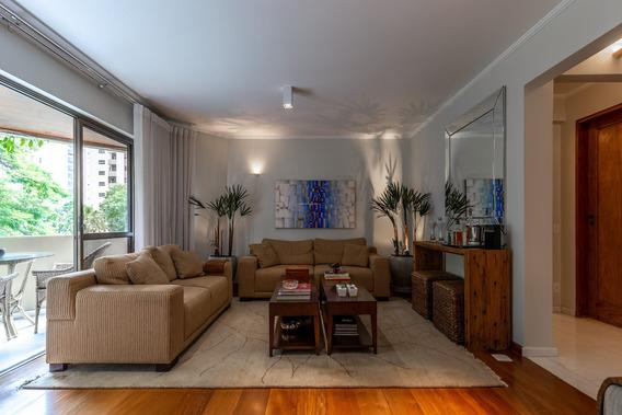 Apartamento Mobiliado Para Aluguel No Campo Belo São Paulo -sp - Ap00131 - 34740489