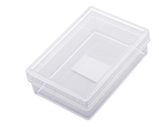 Estuche De Acrilico Transparente 4 X 6.5 X 2 Cm Sin Esponja