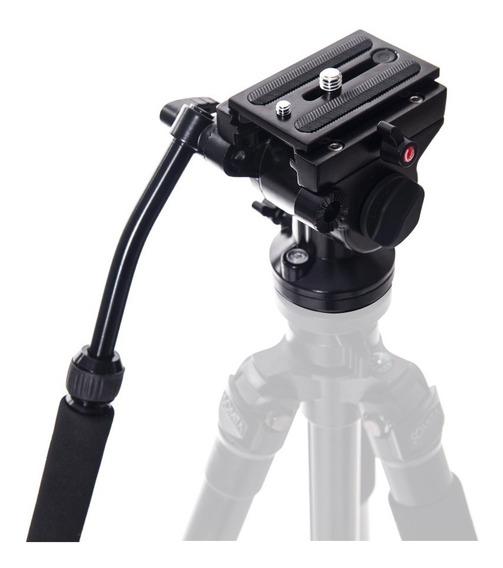Cabeça De Tripé Hidráulica Para Câmera E Filmadora